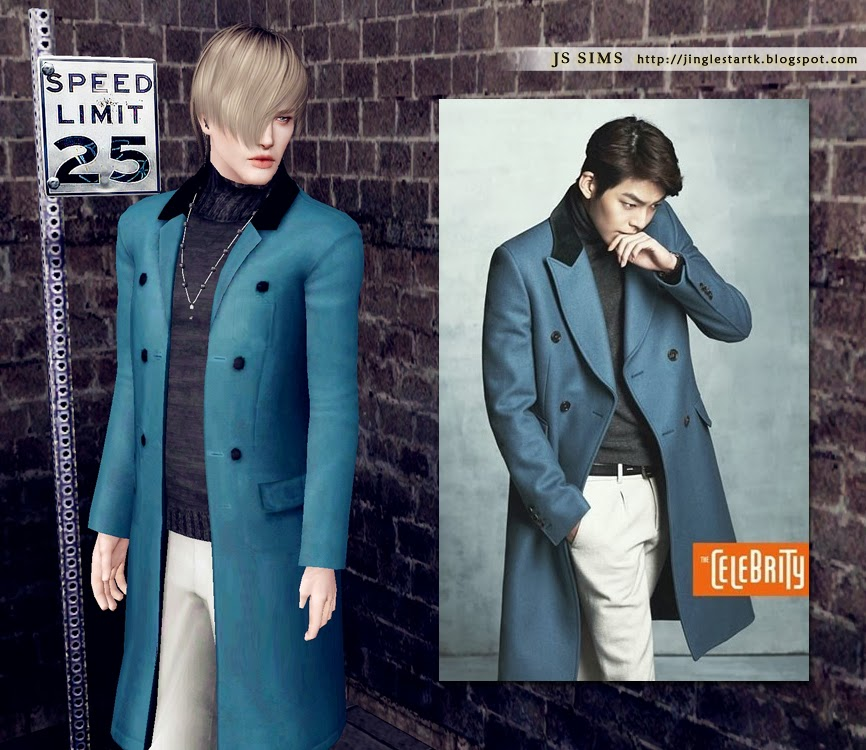 The Heirs Turtleneck Outfit by JS Sims 3