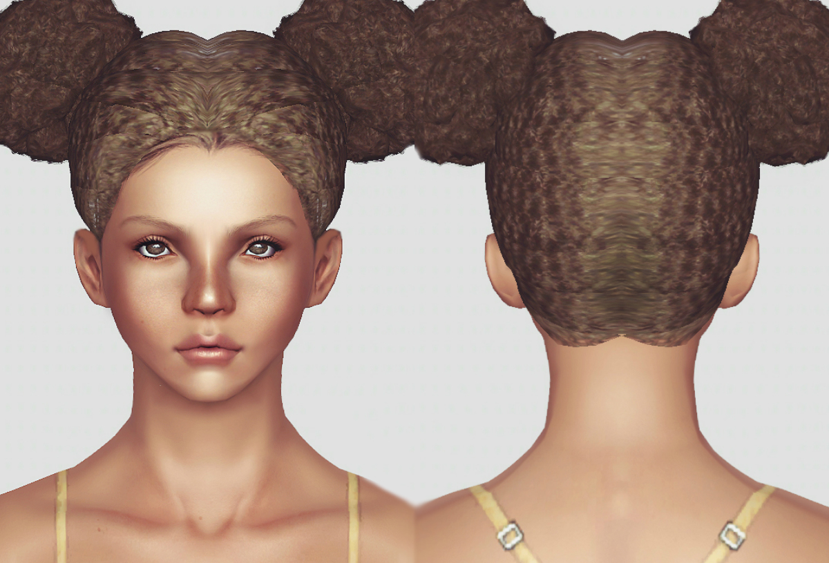 Afro Puffs by Momosims