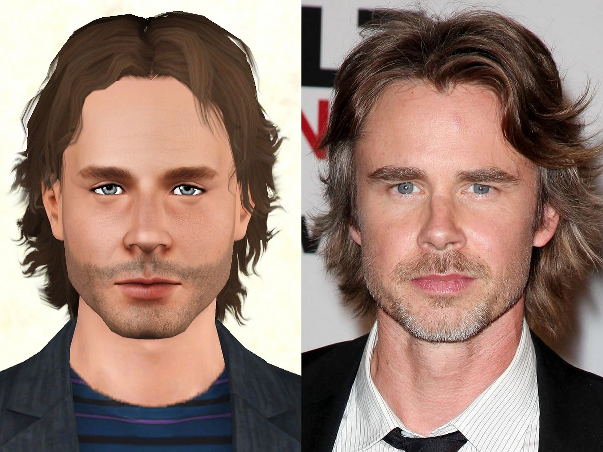 Sam Trammell by k2m1too