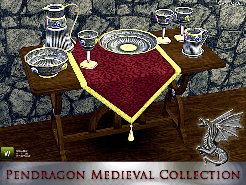 Pendragon Medieval Collection by Cashcraft