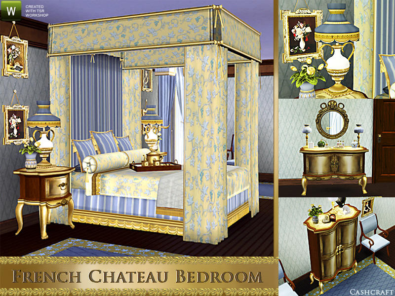 French Chateau Bedroom by Cashcraft