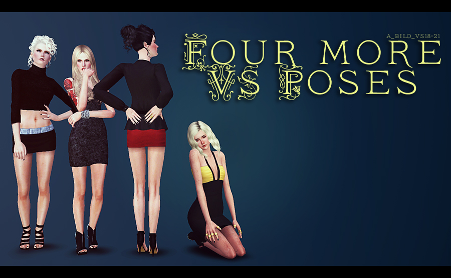 Four More VS Poses by Bilo
