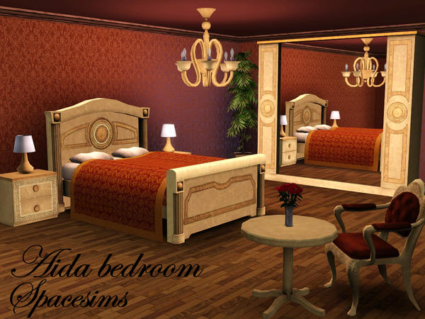 Aida bedroom by spacesims