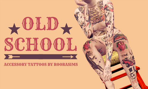 Old School Accessory Tattoos by Roorasims