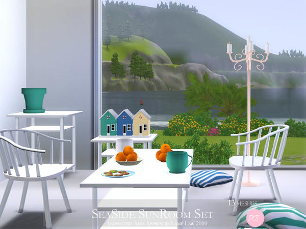 SeaSide SunRoom Set by DOT