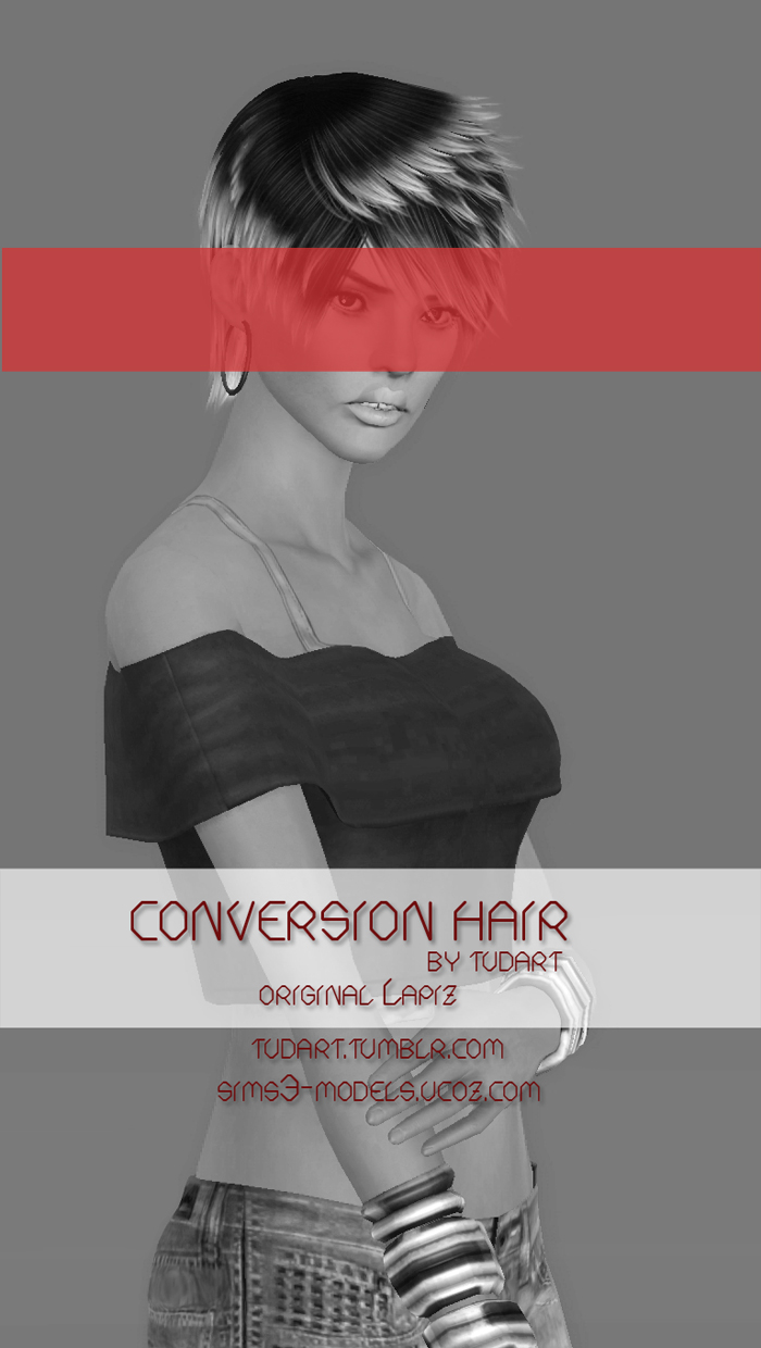 Conversion hair by TUDART
