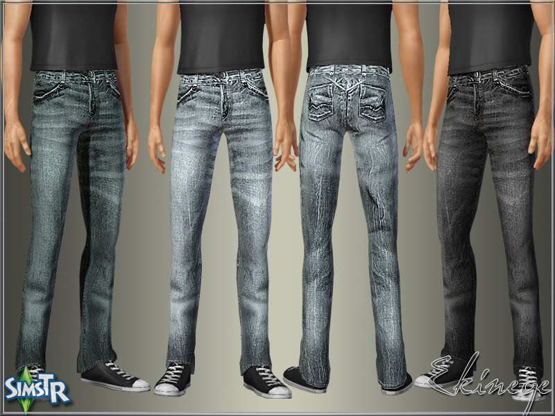 Spring Jeans for Adult Males by Ekinege