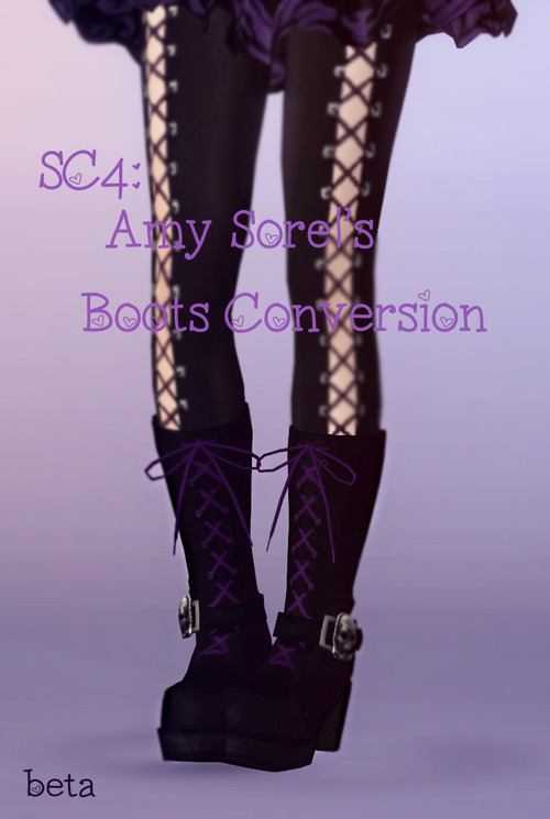Amy Sorels boots by Bring Me Victory