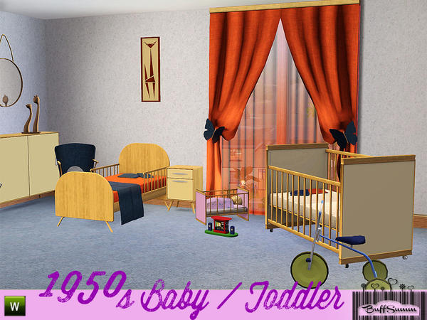 1950s Baby and Toddler Addon by BuffSumm