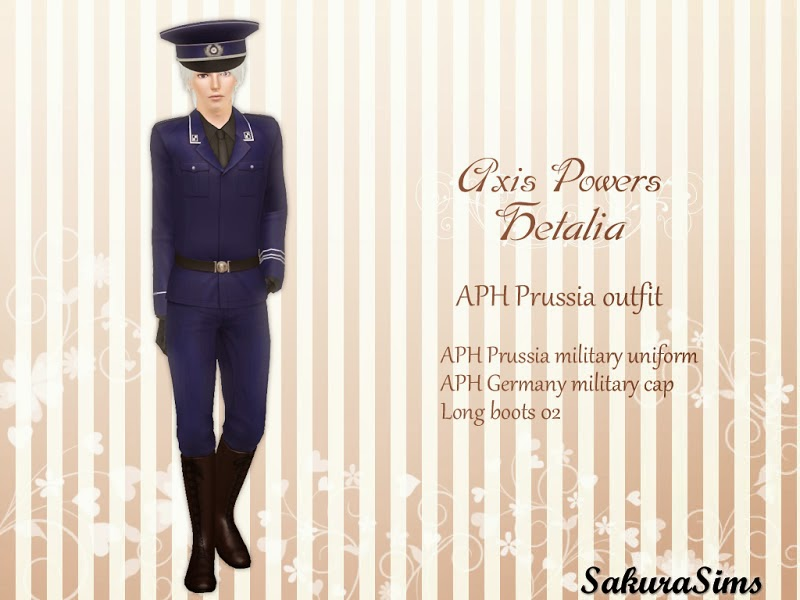 APH Prussia Military Uniform 01 by Sakura