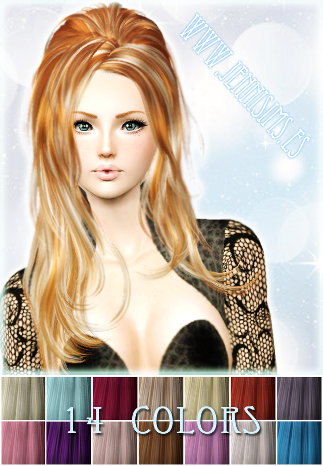 Hair Color Palet Vol 2 by Jenni