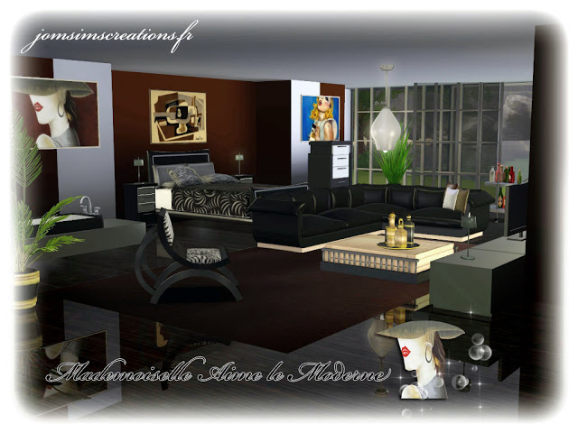 Destructuration and Living Set by JomSims