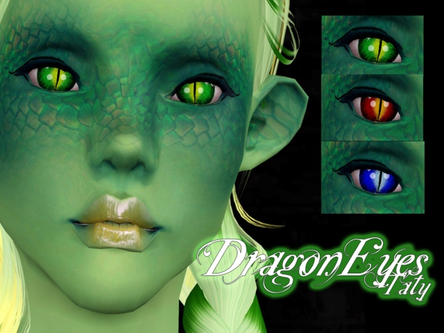 Dragon Eyes by Tati