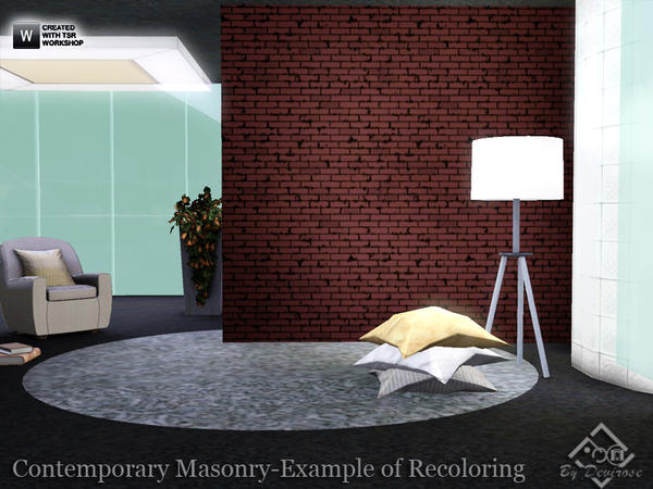 Contemporary Masonry Patterns Collection by Devirose