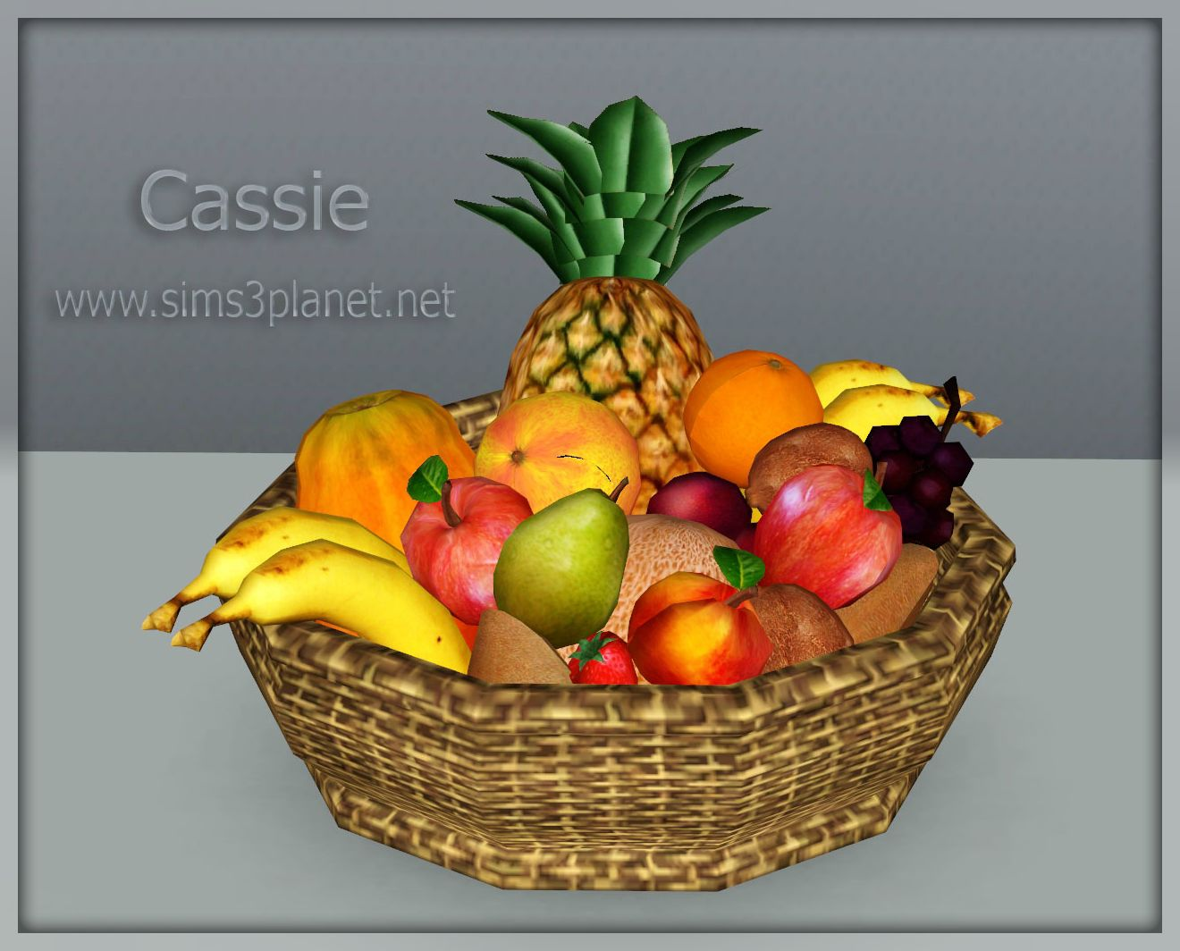 Fruit basket conversion by Cassie