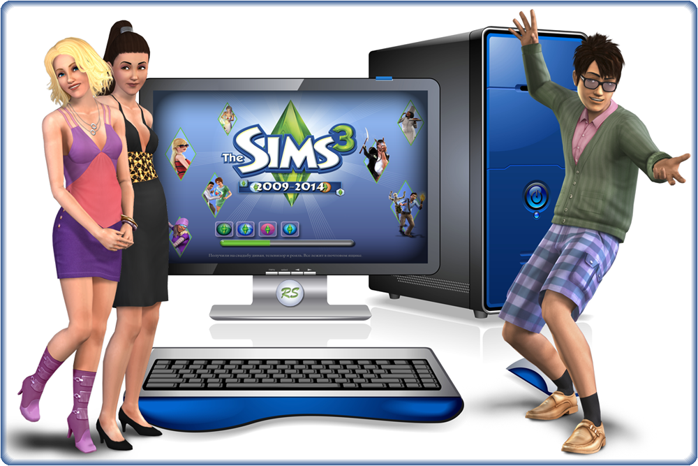 The Sims 3 Loading Screen Replacement by Avenicci