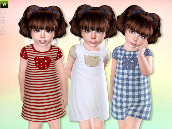 Baby Girl Cotton Dress by lillka
