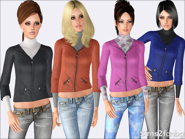 379 - Fall set by sims2fanbg