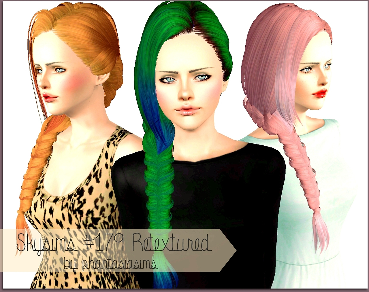 Skysims hairstyle 179 edited by Jassi