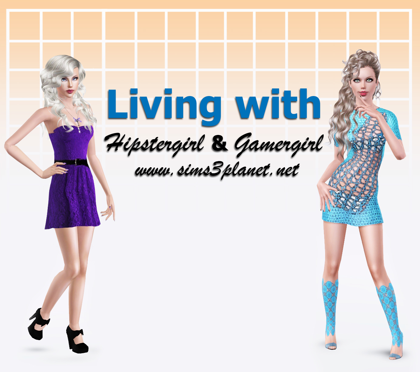 Living with HipsterGirl and GamerGirl (2 часть)