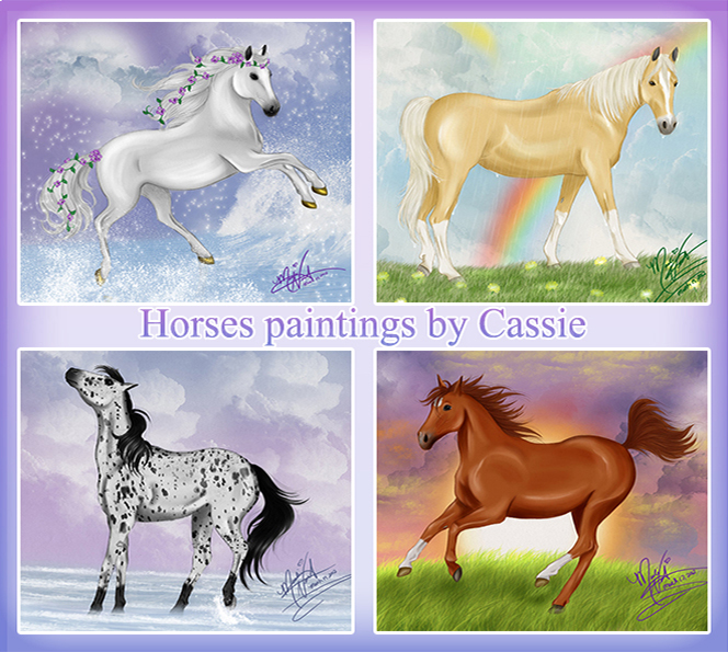 Horses arts2 by Cassie