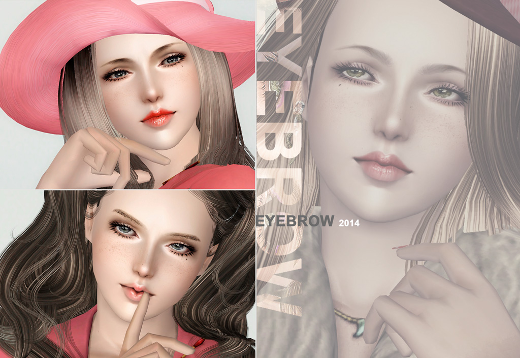 Eyebrow 2014 Collection by S-Club