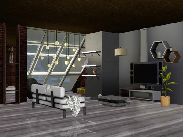 Everette Living Room by sim_man123