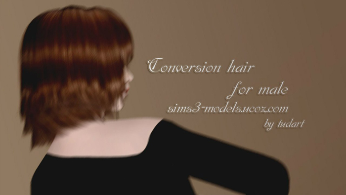 Conversion hair (original Cazy) by TUDART