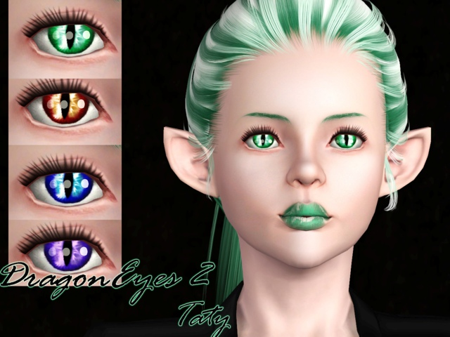 Dragon Eyes 2 by Tati