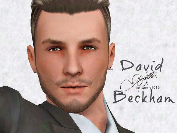 David Beckham by sherri1010