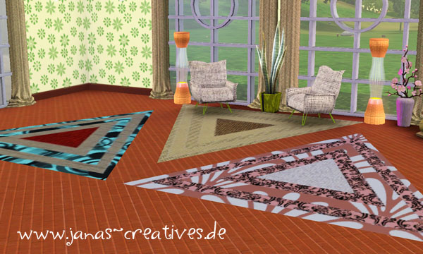 Triangle carpet by Fanny