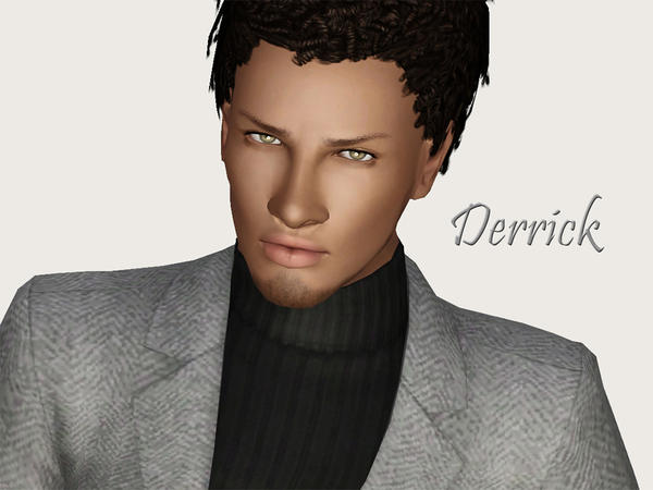 Derrick Blue by Ms Blue