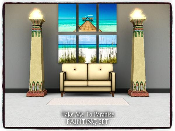 Paradise_PAINTING SET by dowdell626