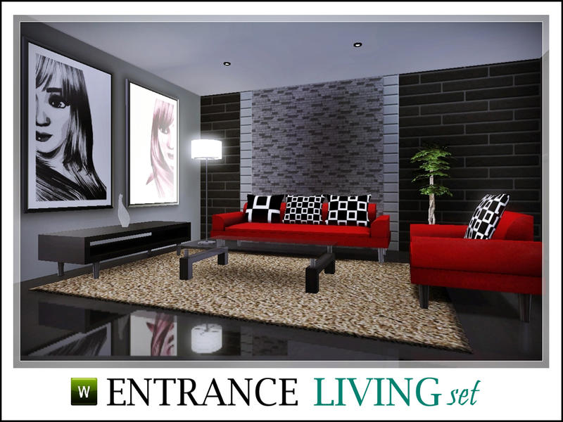 Entrance Living Room Set by ray_sims