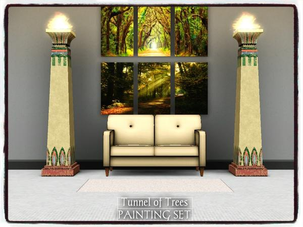 Tunnel of Trees_PAINTING SET by dowdell626