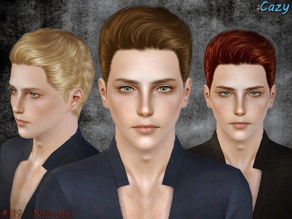 Nicholas Hairstyle - Set by Cazy