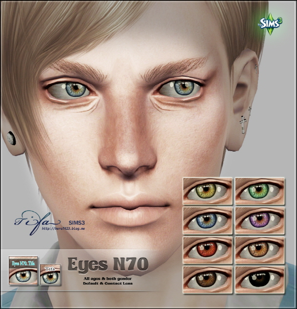 Eyes N70 by Tifa