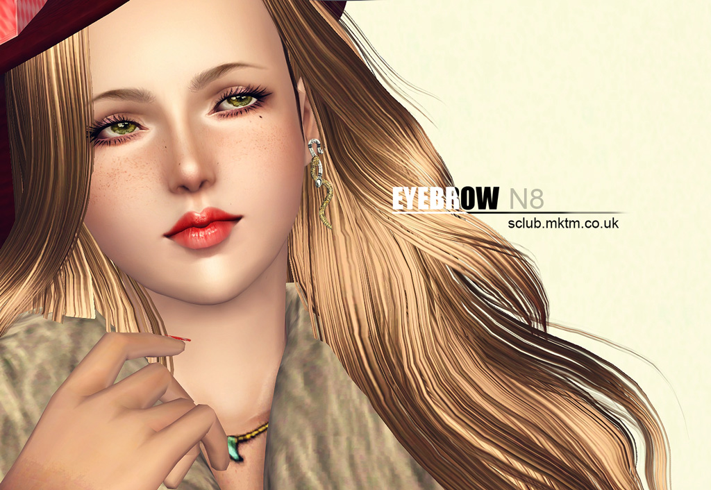 Eyebrow N8 by S-Club