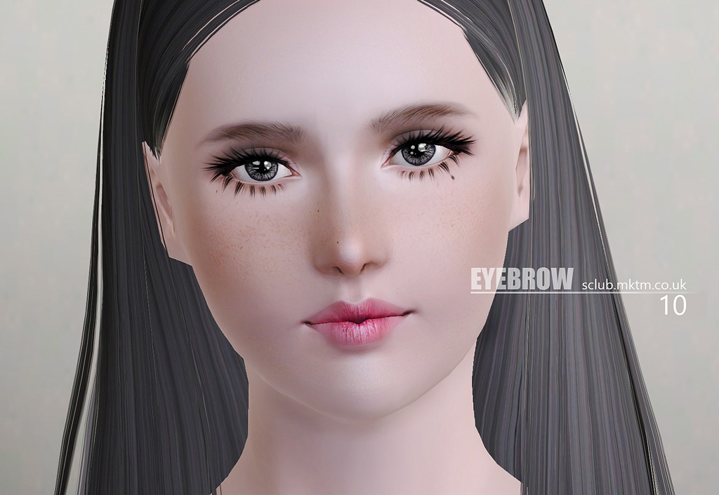 Eyebrow N10 by S-Club