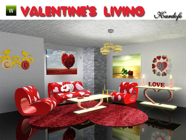 Valentines Living by kardofe