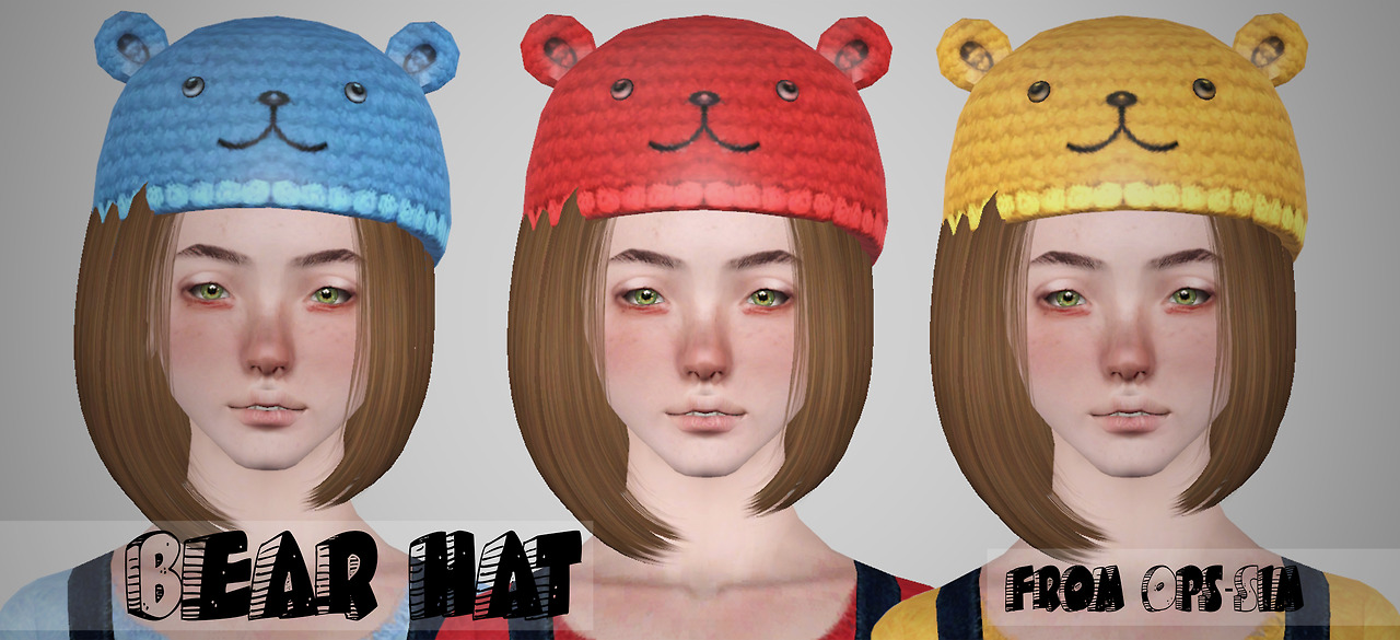 Bear hat by Ops-Sim