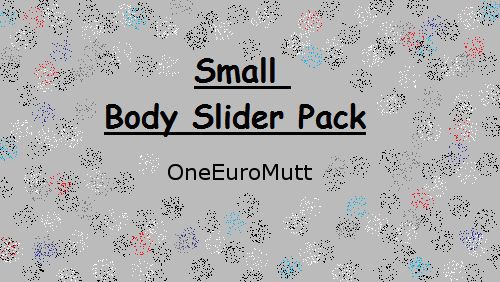 Small Slider Pack by OneEuroMutt