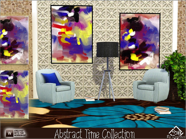 Abstract Time Collection by Devirose