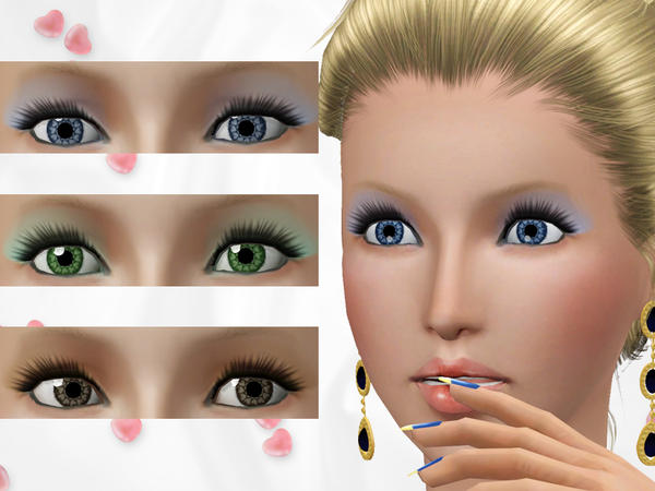 Valentine Hearts Contact Lenses by Wimmie