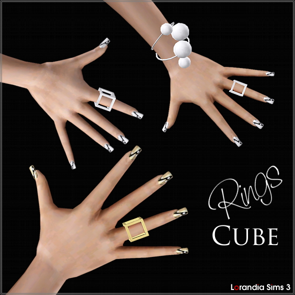 Cube Rings by Lore