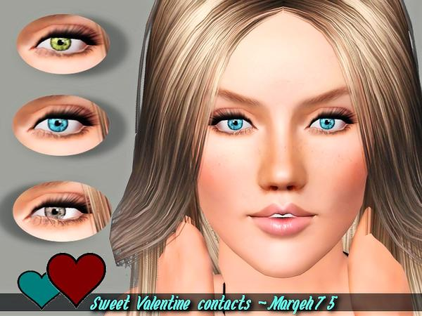 Sweet Valentine Contacts by Margeh-75