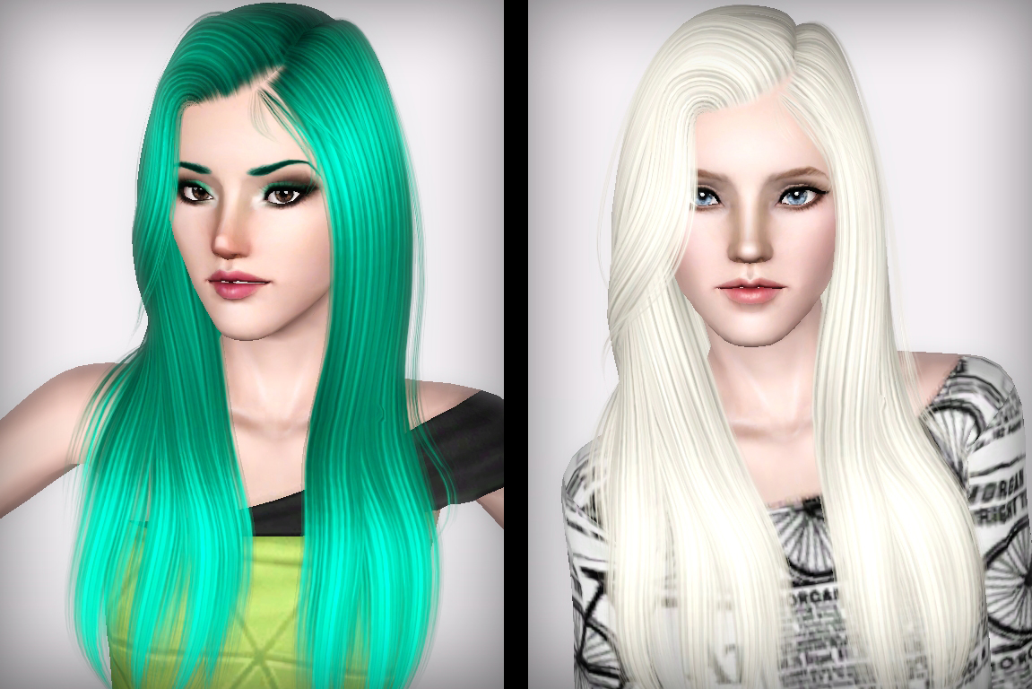 Eve hair from Alesso retextured by Forever and Always