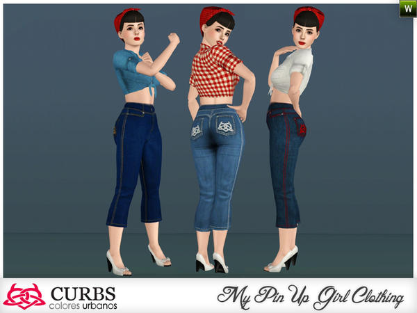 curbs high-waisted pants 04 by Colores Urbanos