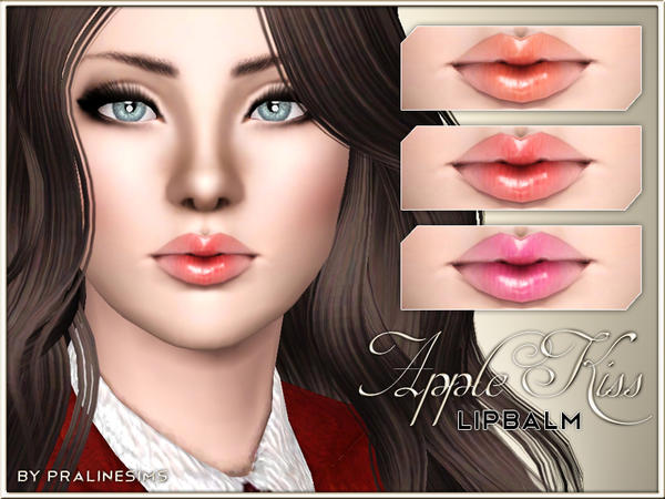 Apple Kiss Lipbalm by Pralinesims