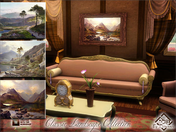 Classic Landscape Collection by Devirose